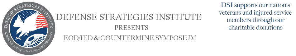 EOD/IED & Countermine Symposium | DEFENSE STRATEGIES INSTITUTE