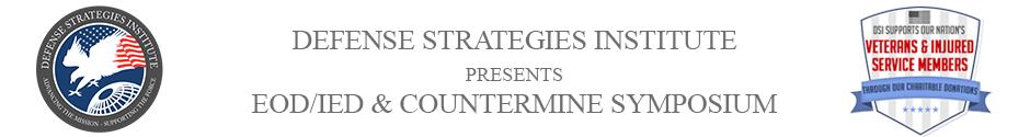 EOD/IED & Countermine Symposium | DEFENSE STRATEGIES INSTITUTE